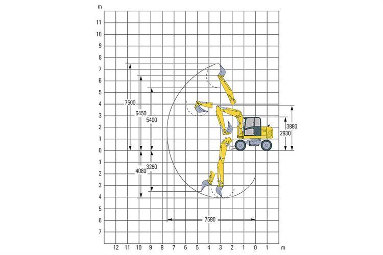 terex tw 85 minibagger mieten