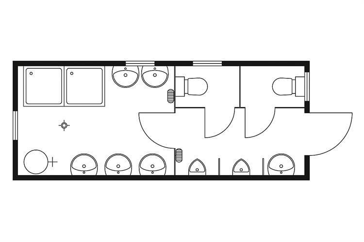 sanit rcontainer 6 0 x 2 5 m mieten zeppelin rental. Black Bedroom Furniture Sets. Home Design Ideas